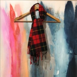 Christian Dior Monsier Plaid Scarf.